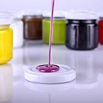 Enamels, resins, glues